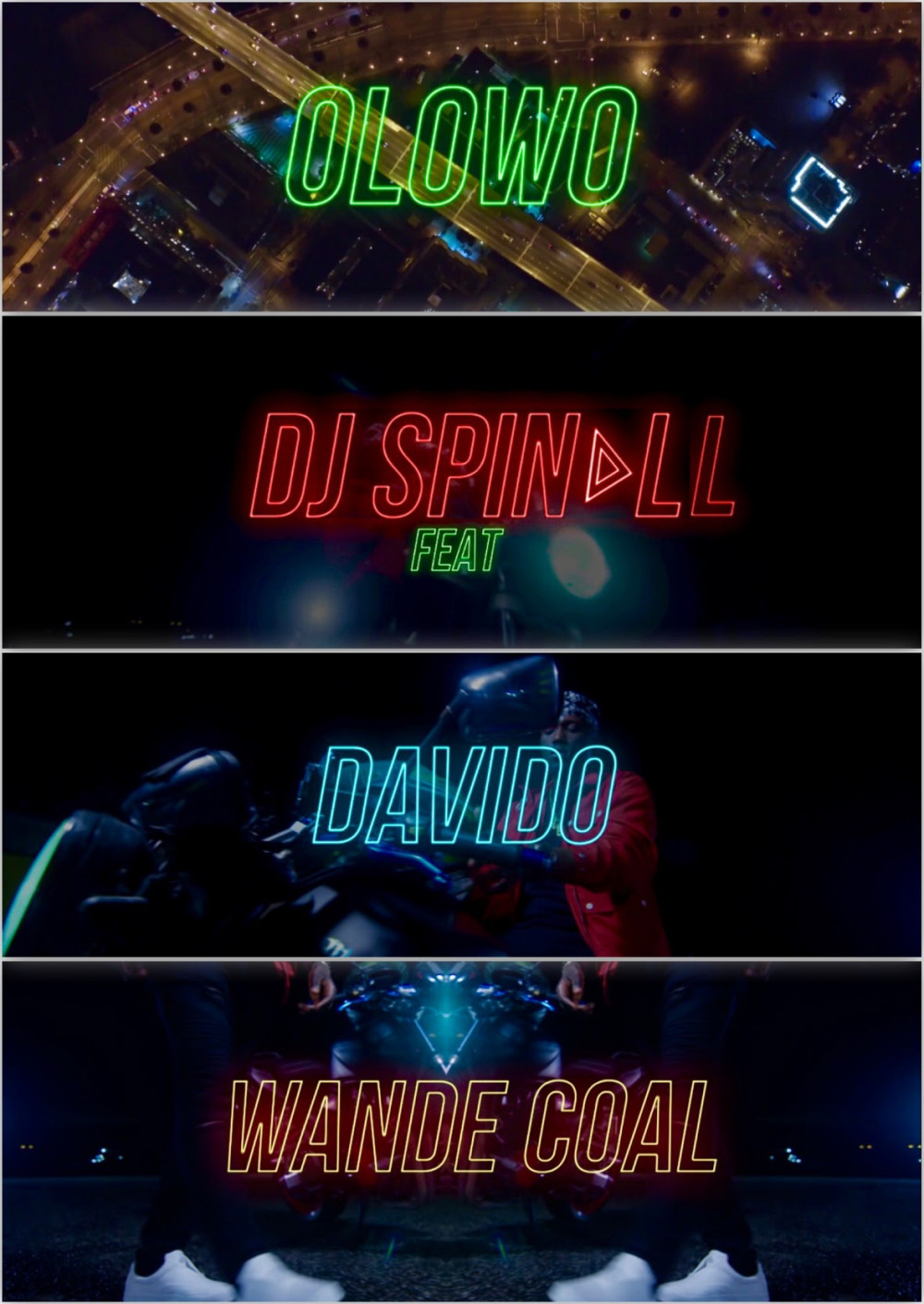New Video: DJ Spinall feat. Davido & Wande Coal – Olowo