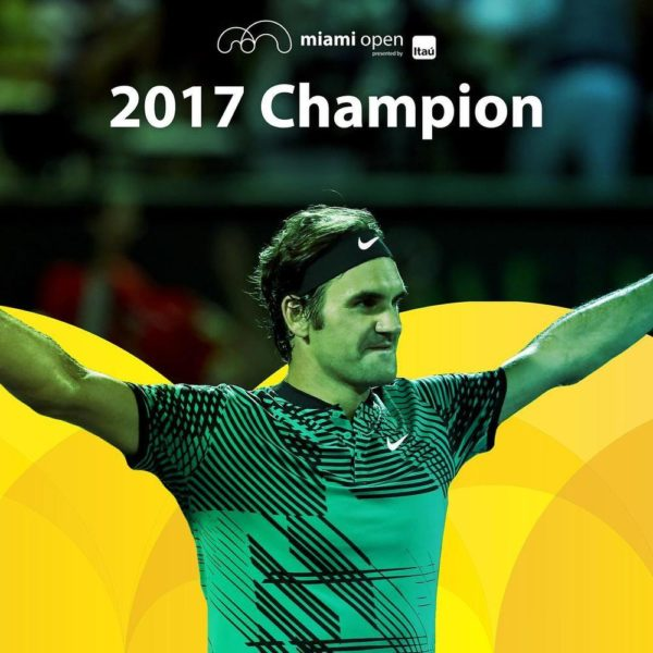 Roger Federer defeats Rafael Nadal to win 2017 Miami Open