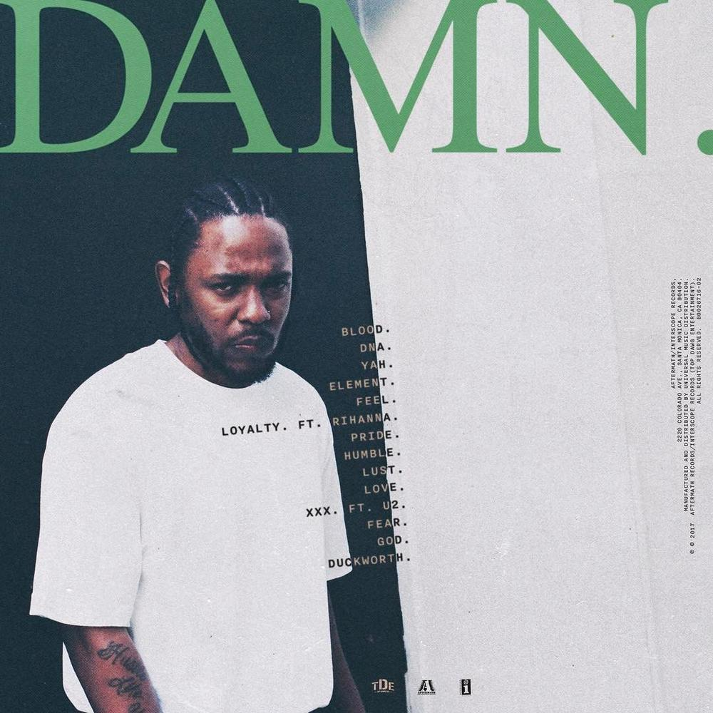 Kendrick Lamar announces 'DAMN.' tour