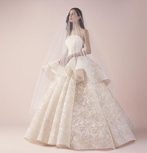 Bn bridal sheer elegance saiid kobeisy 2018 bridal for Saiid kobeisy wedding dresses