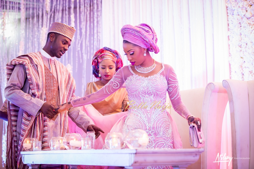 He Proposed To Me On The Phone And I Kept My 'Yes'  In A Safe Place : Muhammed Buhari And Asmau Garo's Spectacular Fairy Tale Northern Wedding