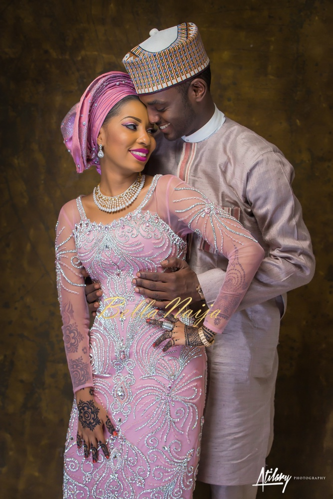 BellaNaija Weddings Had Featured Muhammed Buhari And Asmau Garos Spectacular Fairy Tale Northern Wedding Sword Crossing Ceremony In A 4 Part Video