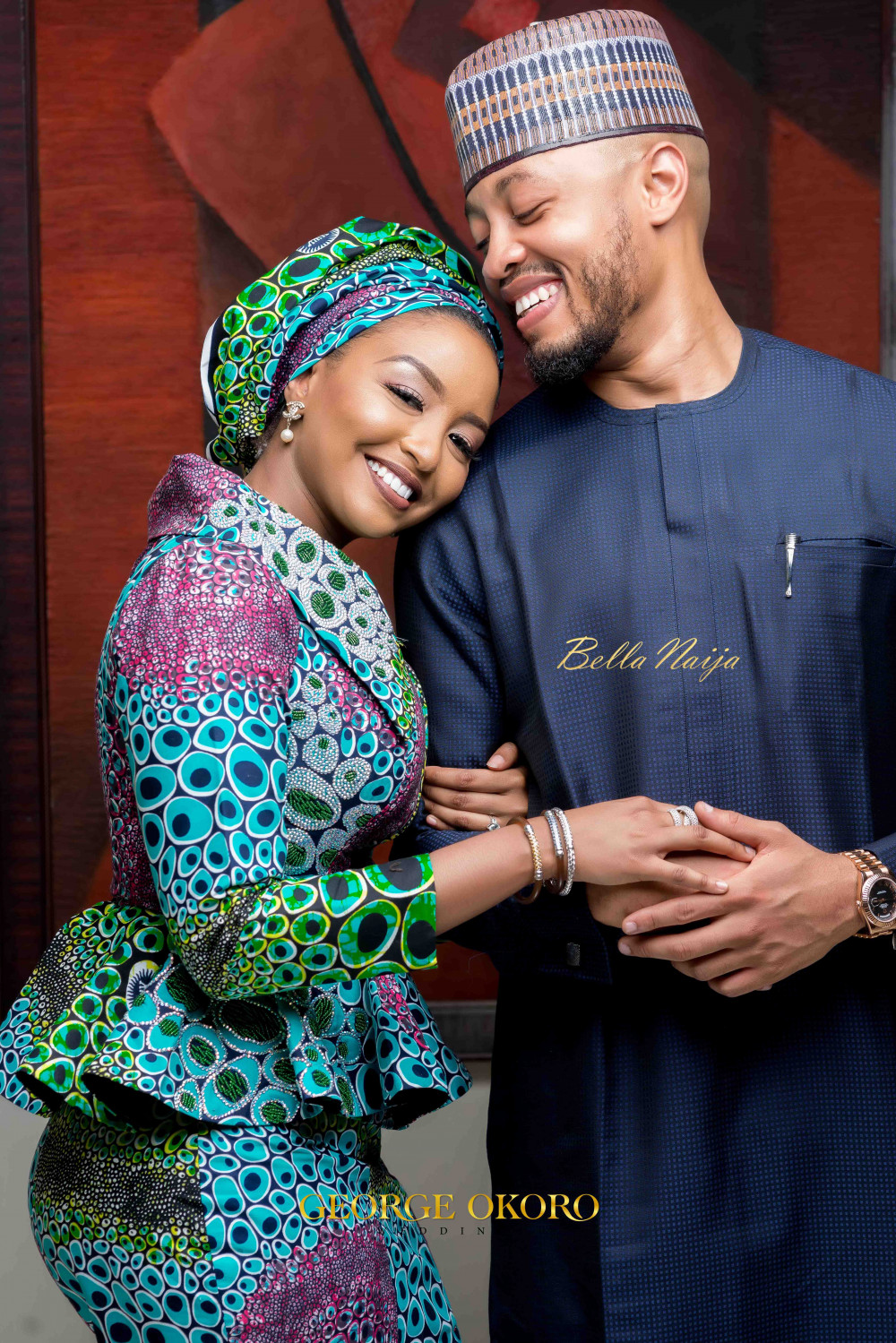 Fatima & Rufai's Great Gatsby Themed Pre-Wedding Cocktail Event in Abuja | George Okoro Weddings