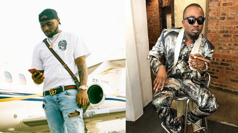 Davido & Ice Prince allegedly engage in Messy Face Off in Warri
