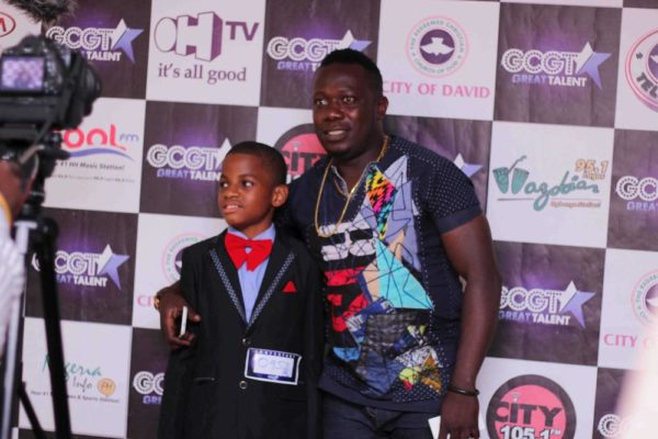 Duncan Mighty with GCGT 7 contestant Nengi Jaja