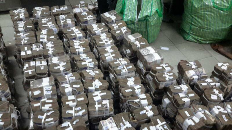 Image result for money bags found by efcc