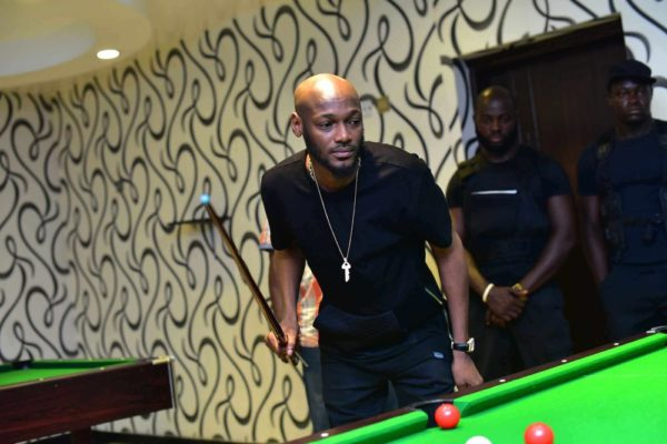 2Baba with football fans