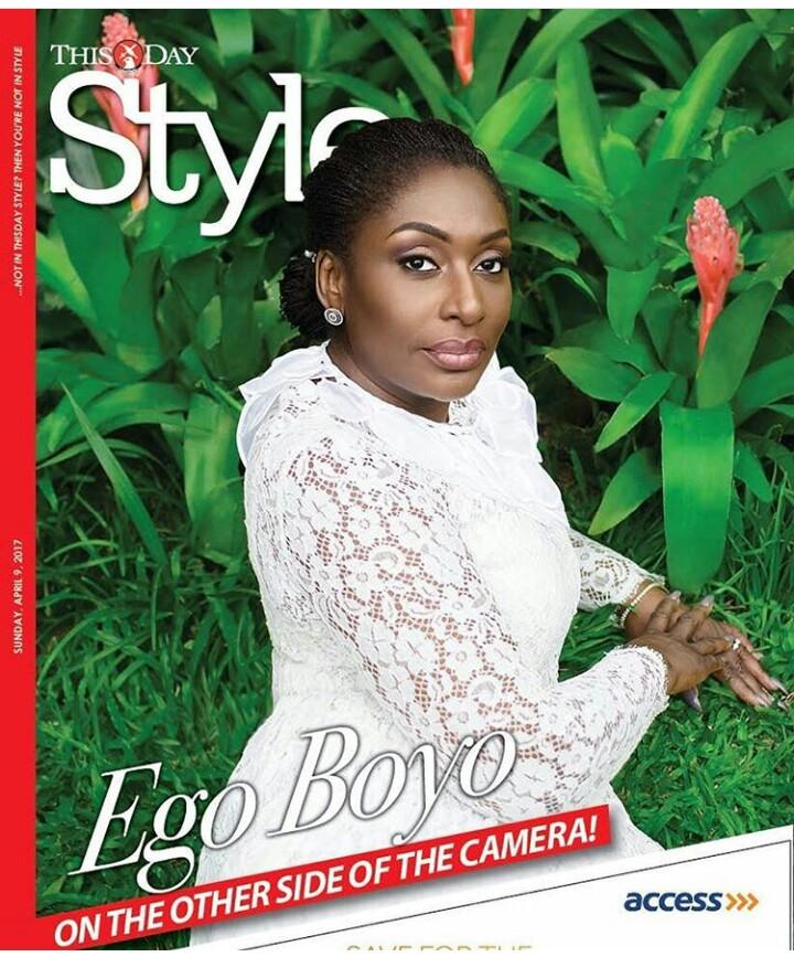 Actress Ego Boyo Covers The Latest Issue Of Thisday Style Magazine