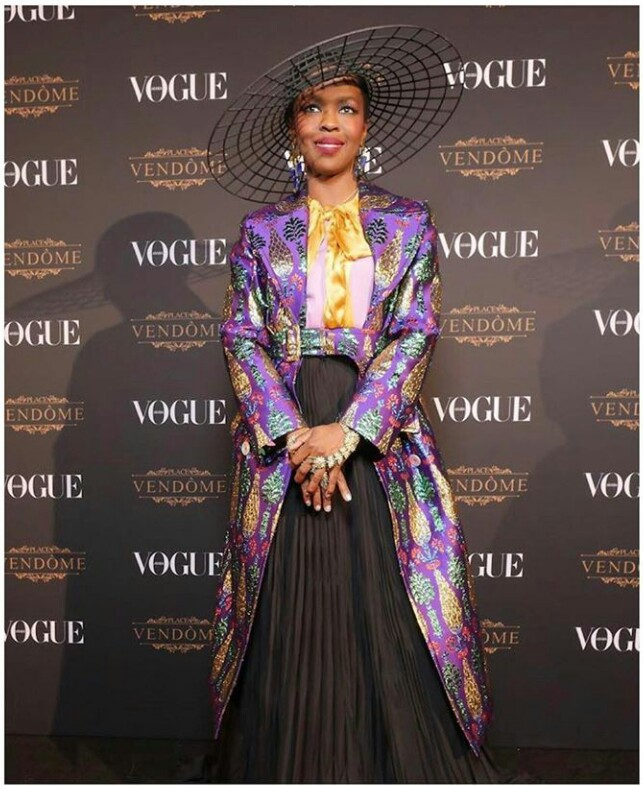 Legendary Singer & Actress Lauryn Hill Performs at the Launch Party of Vogue Arabia in Doha