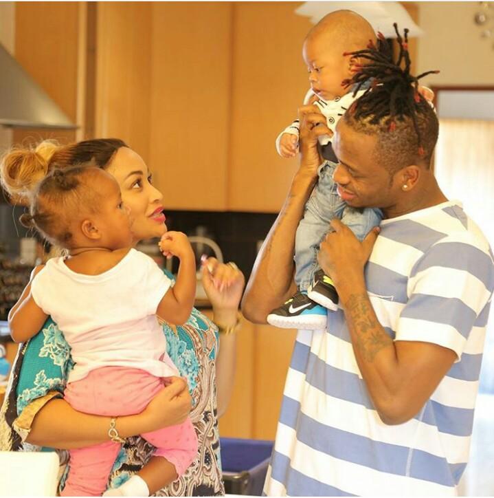 Tanzanian Singer Diamond Platnumz Shares Adorable Photos Of His Beautiful Family