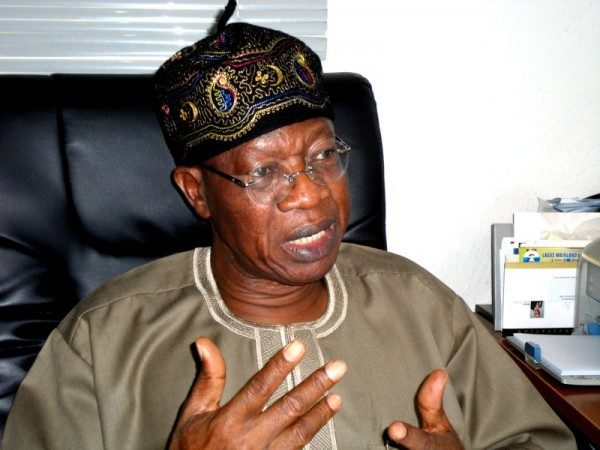 Decay of infrastructure fault of Jonathan Administration - Lai Mohammed - BellaNaija