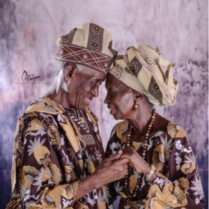 This Photo of a Nigerian Couple celebrating their 53rd Wedding Anniversary is Everything!