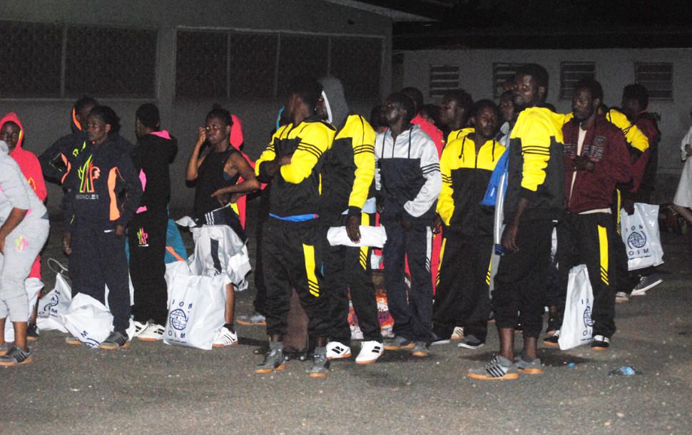 Hundreds of stranded Nigerians return from Libya - NEMA -BellaNaija