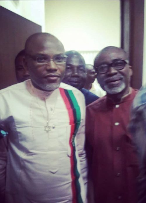 Senator Abaribe wants out as Nnamdi Kanu's Surety as Defendant is Absent in Court 65