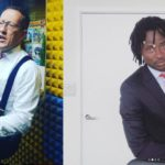 Richard Quest (left) and Bisi Alimi