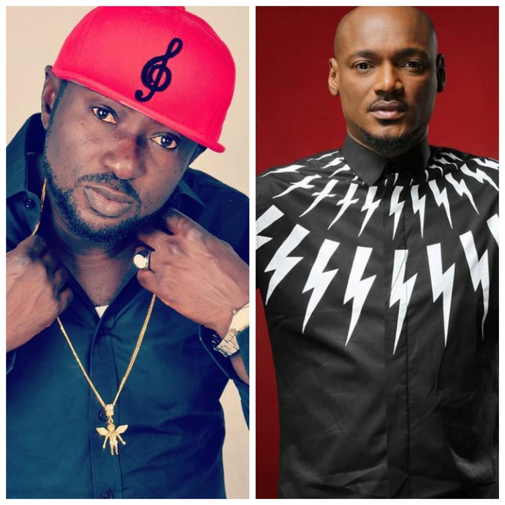"""You're the one filled with hate and envy that's why I named you 2face"" – Blackface to 2Baba"
