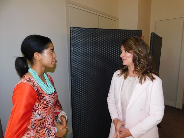 Zuriel Oduwole in a chat with Melinda Gates