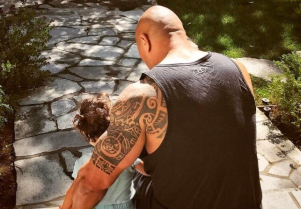 "Dwayne ""The Rock"" Johnson and Daughter Jasmine"