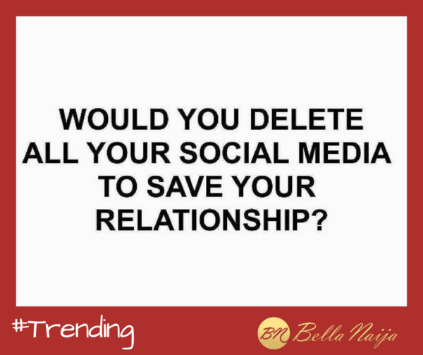 #Trending: Would You Delete All Your Social Media to Save ...