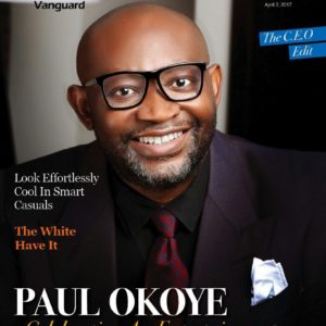 Celebrating an Entertainment Guru at 50! Paul Okoye is on the Cover of Vanguard Allure's Latest Issue