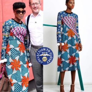 Mo Abudu Loves Lisa Folawiyo and So Do We! See her Chic Ankara Looks for #RichardQuestinNigeria