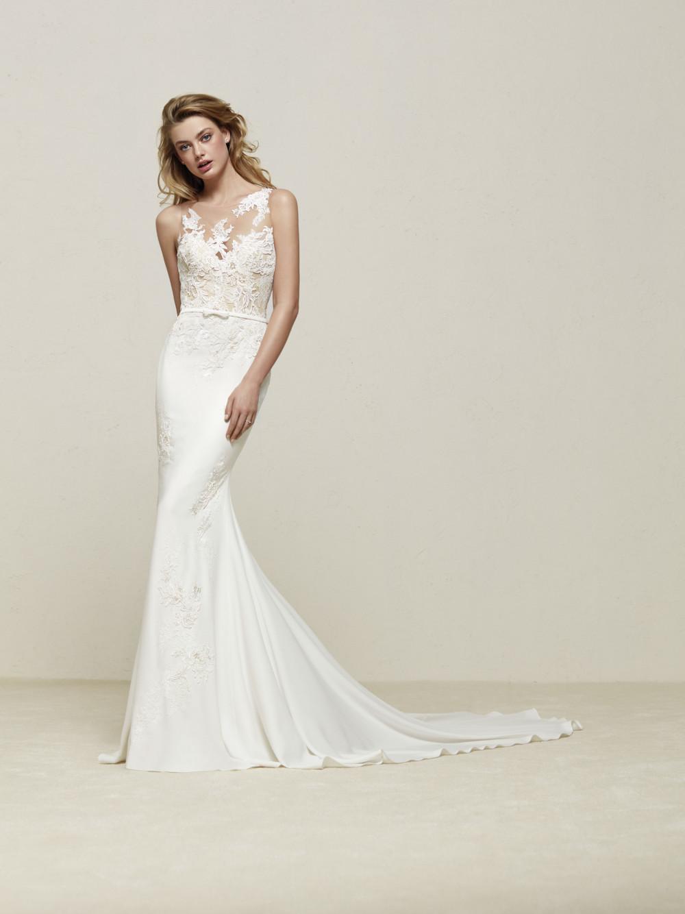 BN Bridal: Pronovias Preview Bridal Collection 2018 - BellaNaija