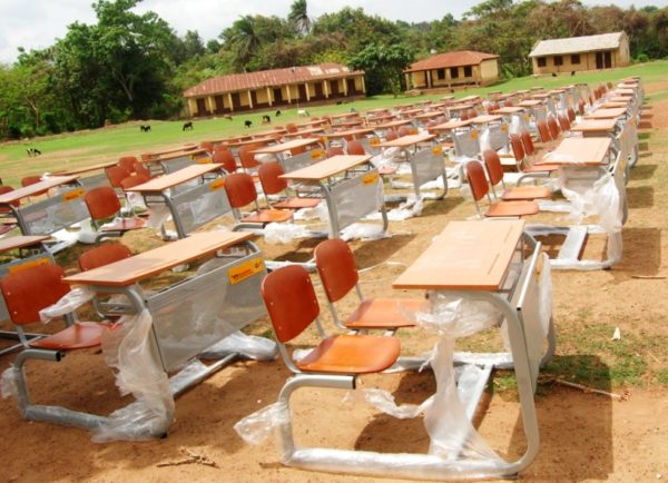 MTN Foundation donates furniture in Muslim Junior Secondary School Erinle, Kwara State