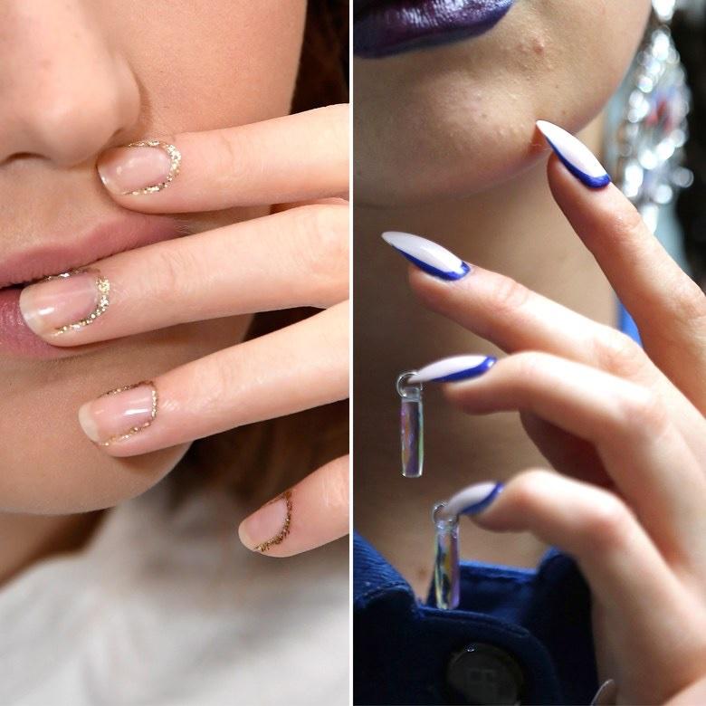 Monday Manicure: Stripes, Metallic Ombré & Other Fun Nail Art Trends ...