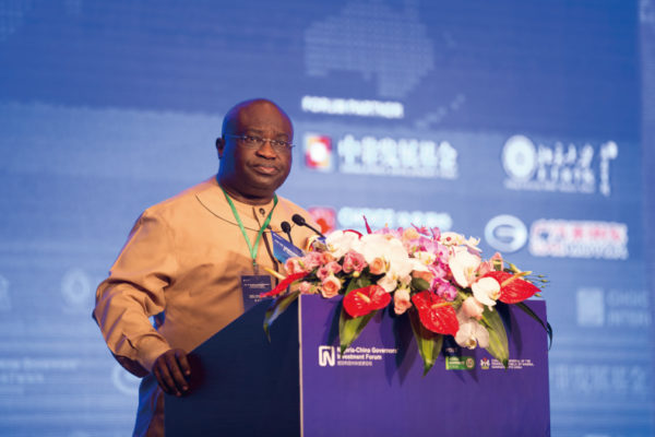 Governor of Abia State, Dr. Okezie Ikpeazu