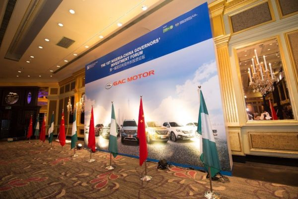 Nigeria-China Governors' Investment Forum