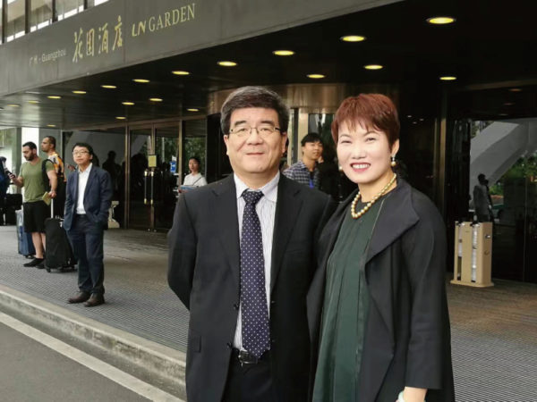 Professor HaiWen & President of Choice International, Ms Diana Chan