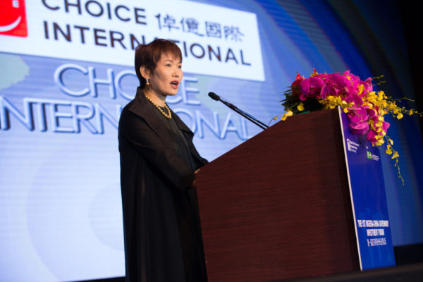 Ms. Diana Chan, President of Choice International at Nigeria-China Governors' Investment Forum