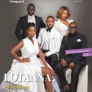"Cast Of ""Lotanna"" Chris Attoh, Chris Okagbue, Keturah King, Ifan Ifeanyi Micheal & Ama K Abebrese Cover Vanguard Allure's Latest Isuue"