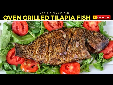 Bn cuisine sisi yemmie shares a recipe for her oven for How to grill fish in oven