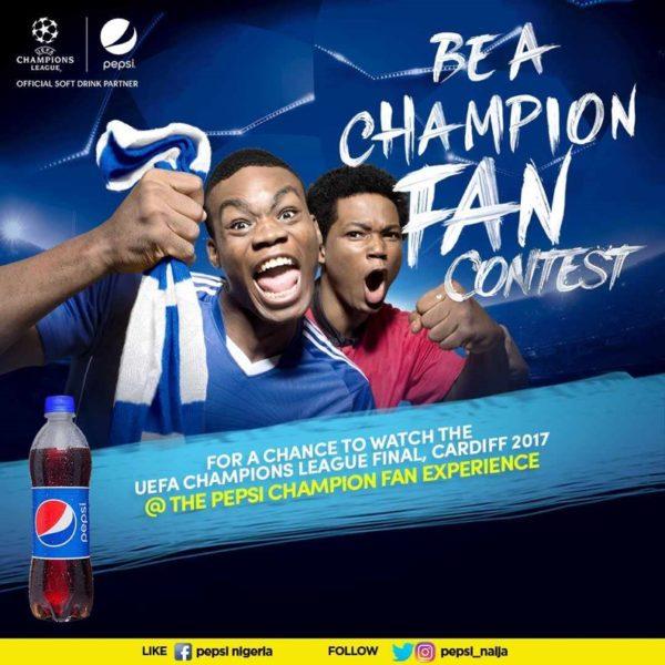 Pepsi #ChampionFan BellaNaija