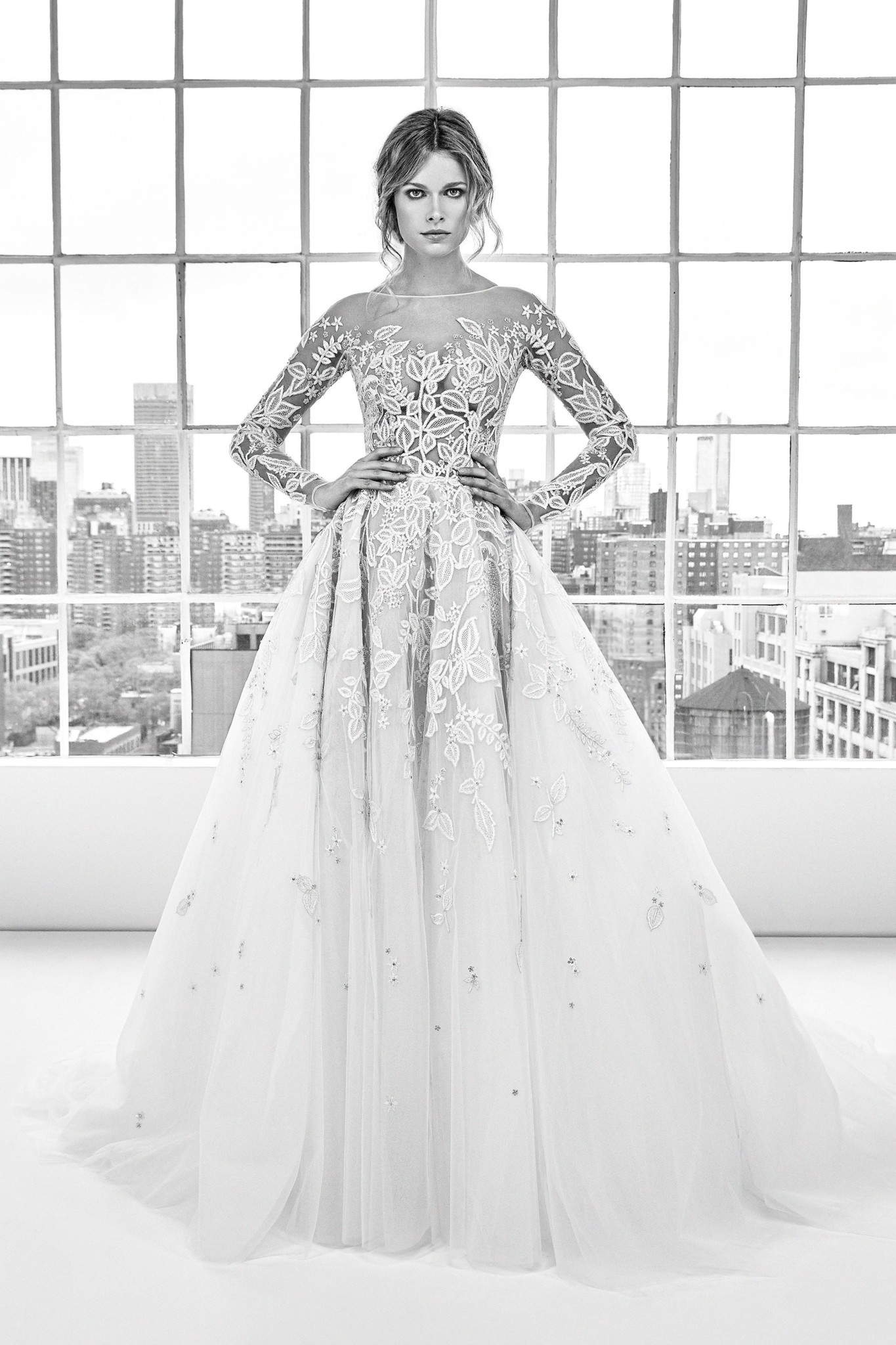 Bn bridal zuhair murad bridal fashion week spring 2018 for Zuhair murad wedding dress