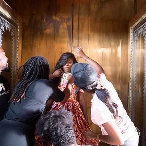 BellaNaija - Tiwa Savage is the Cover Star for Parallel Magazine's upcoming Special Edition   See B.T.S. Photos