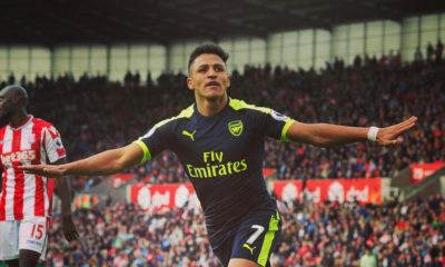 BellaNaija - Arsenal maintain chase for Champions League Spot with Dominant Stoke Win