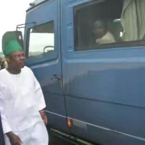 BellaNaija - Governor Ibikunle Amosun's convoy hit by CBN Bullion Van