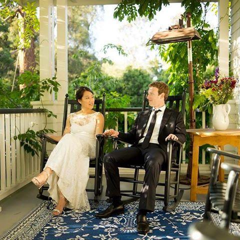 BellaNaija - Mark Zuckerberg and His Wife Priscilla celebrate 5 Years of Marriage