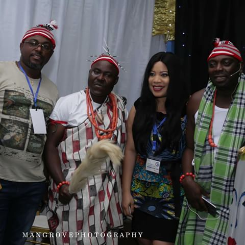 "BellaNaija - Ime Bishop Umoh, Ibinabo Fiberesima & More attend Monalisa Chinda's Stage Play ""The Concubine"" 