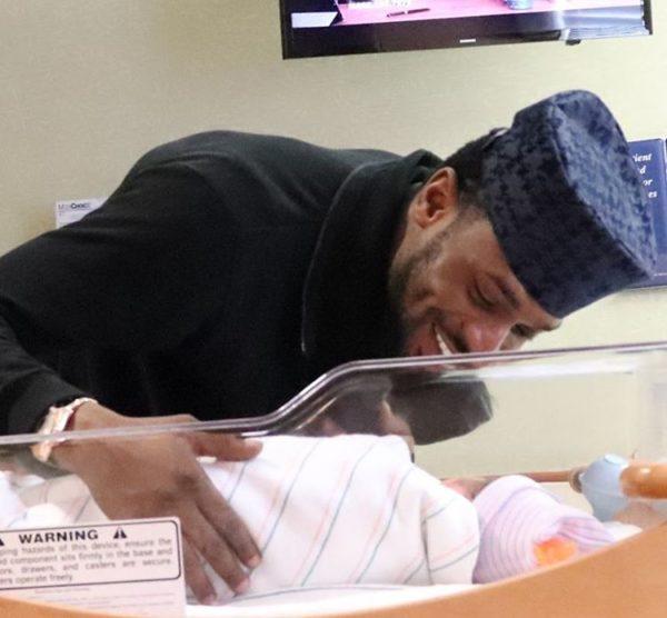 BellaNaija - D'Banj celebrates Children's Day with His New Born