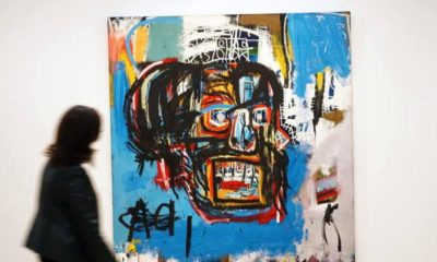 Art lovers! See the Basquiat Painting