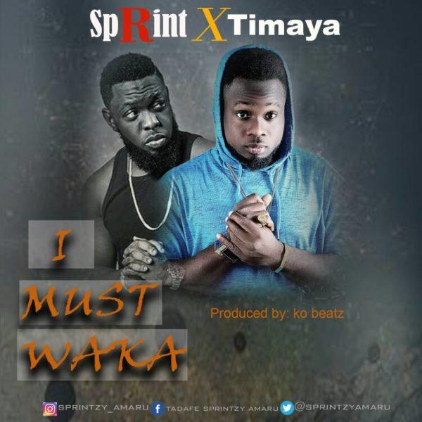 New Music: Sprint feat. Timaya – I Must Waka