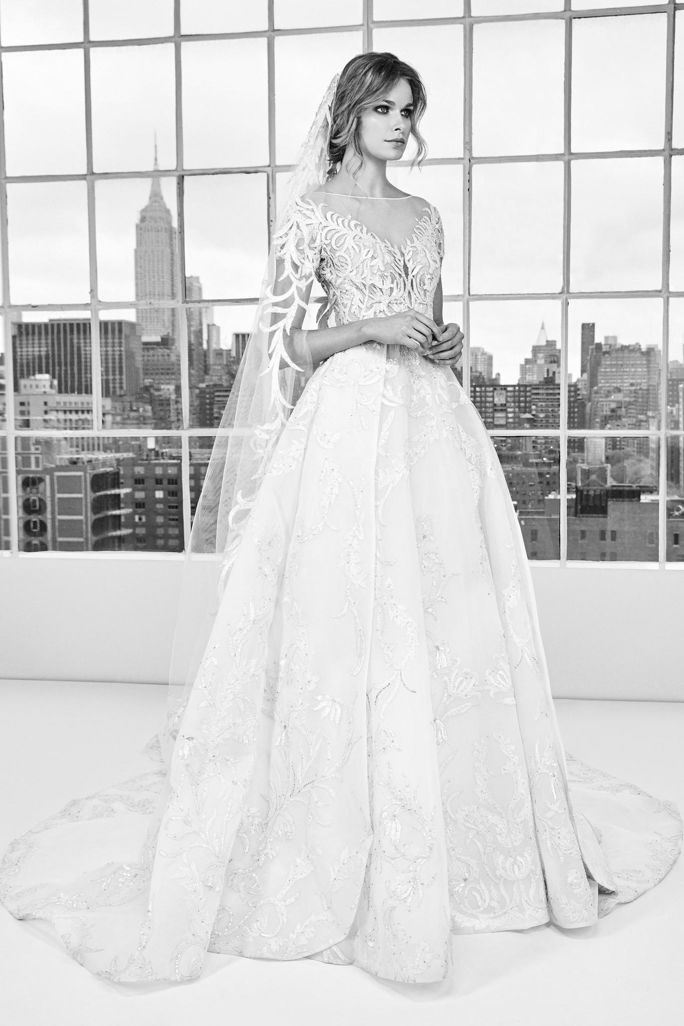 Bn Bridal Zuhair Murad Bridal Fashion Week Spring 2018