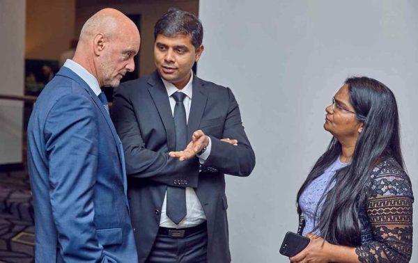 Roman, Parag and Jayashri Namdar, CCNA Team