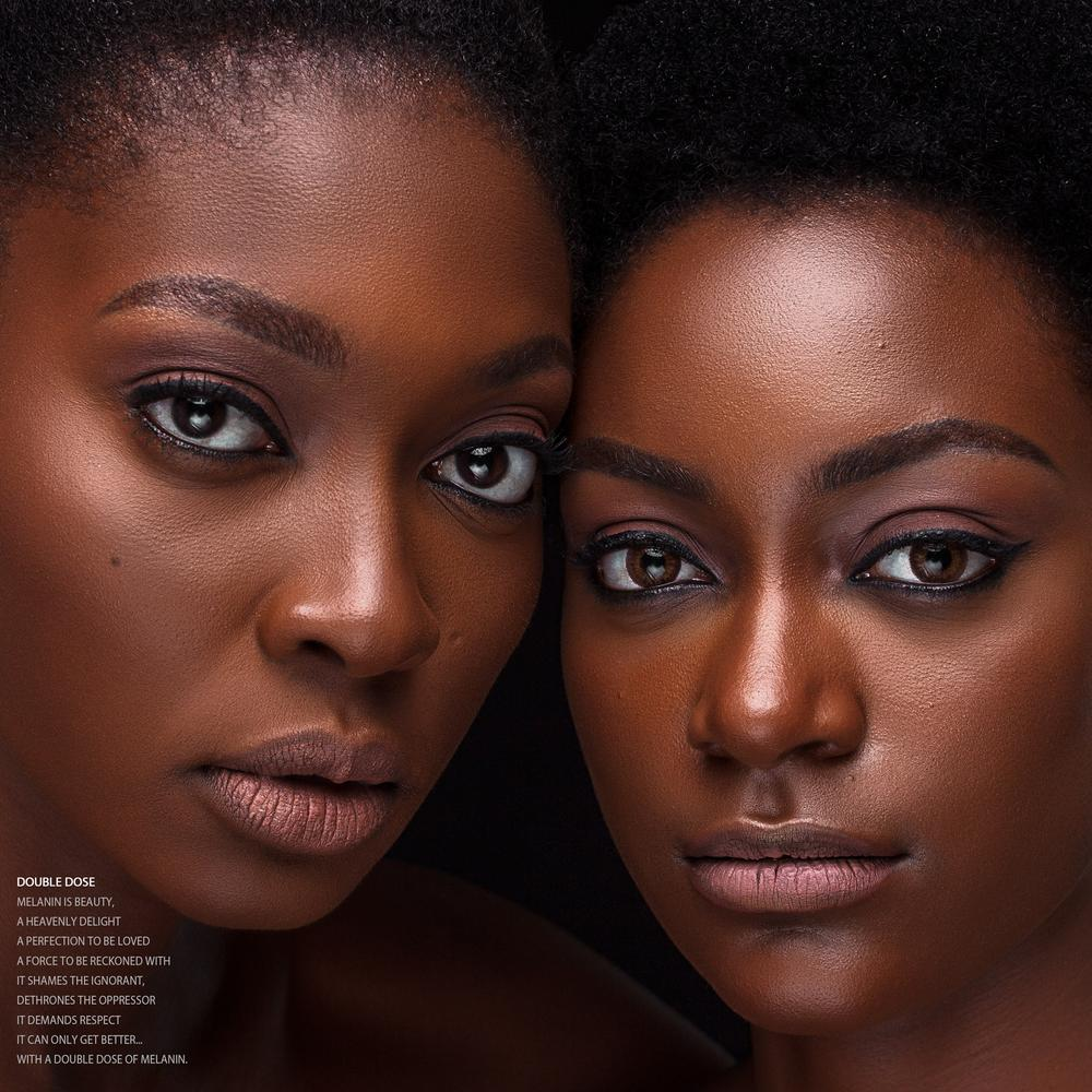 'An Ode to Melanin' a Beauty Editorial Shoot by The Alfe