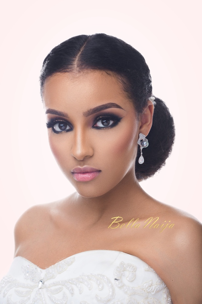 BN Bridal Beauty: Inspiration for the Edgy Bride with Smokey Eyes & Gold Pigments!