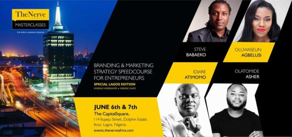 TheNerve Africa branding and marketing masterclass