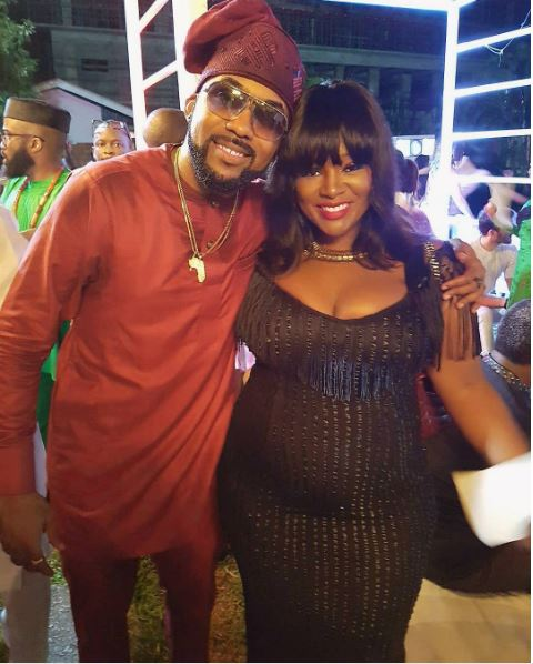 Aww... Here's Why Toolz announced her Pregnancy on Banky W & Adesua's Intro Day